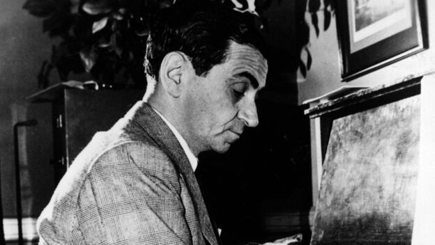 Composer Irving Berlin.