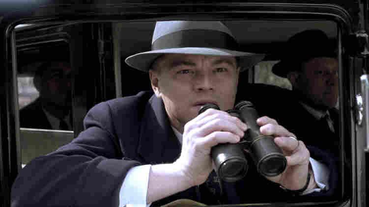 Leonardo DiCaprio plays J. Edgar Hoover in J. Edgar, a biopic written by Dustin Lance Black.