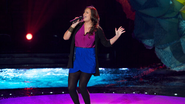 It's like a charm school talent show out there on this season of American Idol, but Jen Hirsh is showing signs of personality.