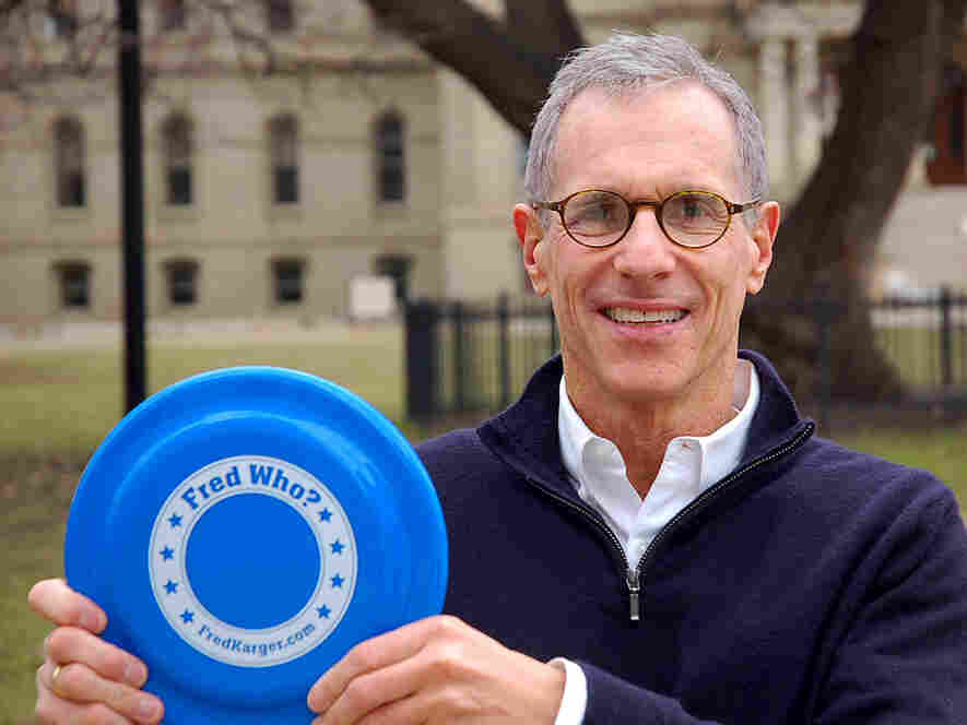 GOP presidential candidate Fred Karger hopes Michigan's primary rules will allow him to pick up a few delegates to the national convention. He's focusing on just one congressional district in the center of the state.