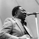 Seminal American blues singer and songwriter Muddy Waters.