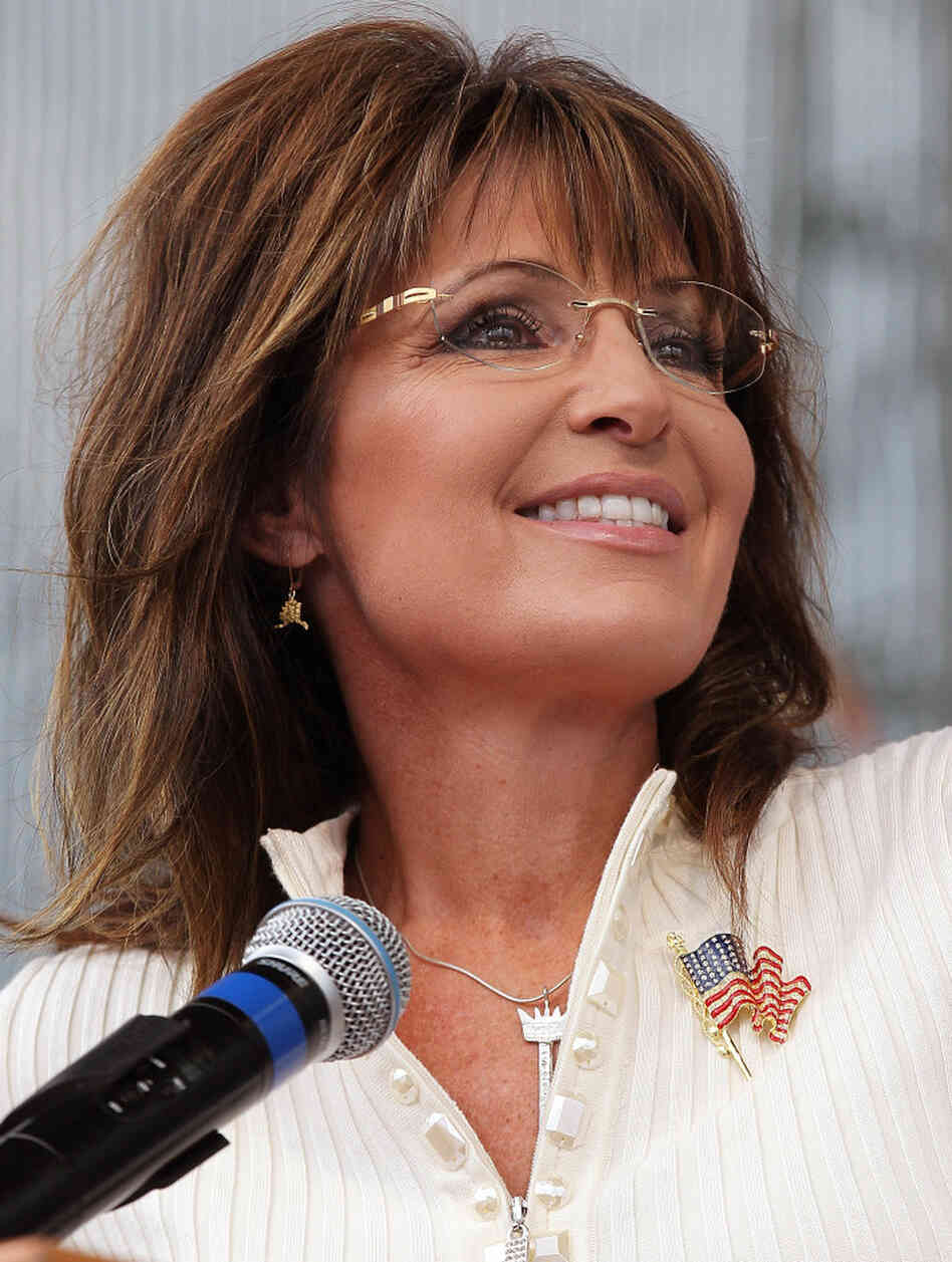 Former Alaska Gov. Sarah Palin at a Tea Party event in Iowa last September.