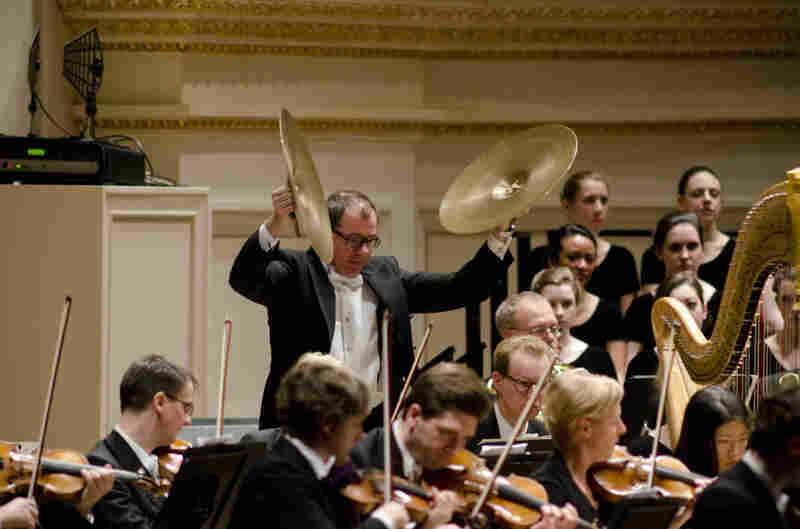 """Bright percussion plays a central role in Mahler's searching """"Resurrection"""" Symphony."""