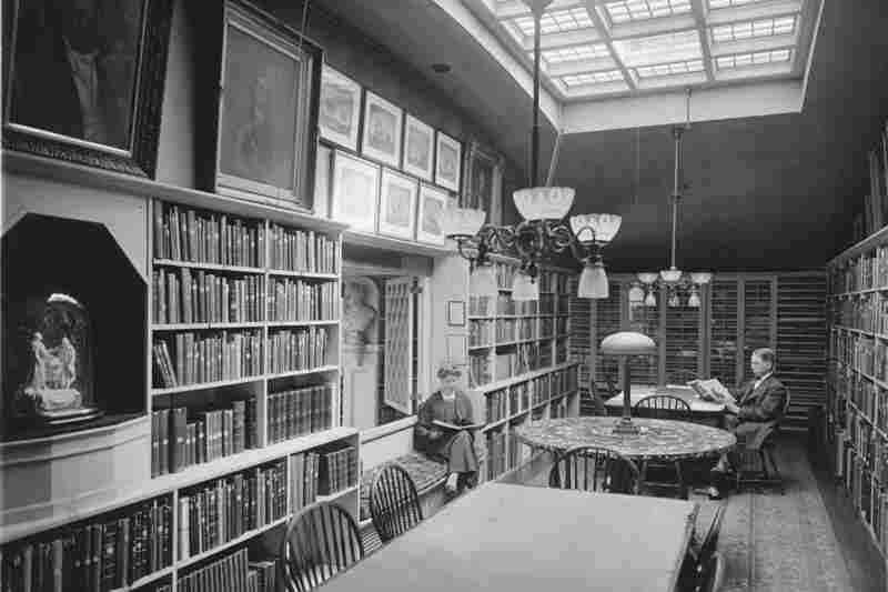 The Art Room at the Athenaeum, circa 1897