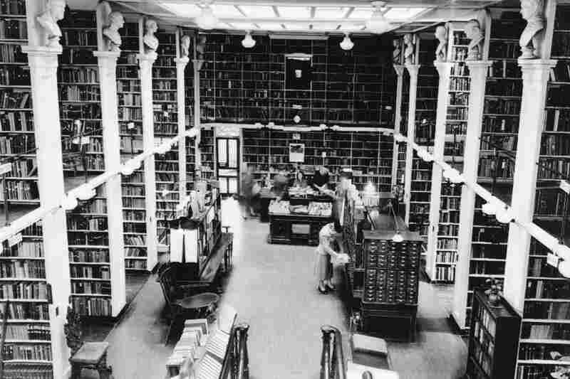 The Athenaeum's interior, circa 1940
