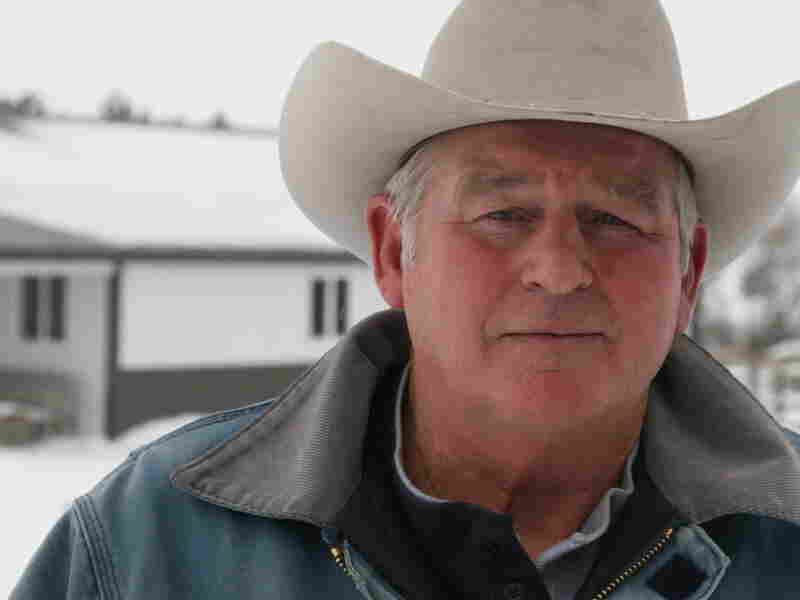 Rancher Randy Thompson is fighting to keep the Keystone XL pipeline from being built in Nebraska.