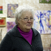 Betty Kay Price, 64, is an artist originally from Texas. She agrees Jackson, Mich., was hard hit by the failing auto industry but thinks the government should have been more cautious before getting involved.