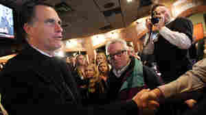 On Romney's Michigan Tour, A Change Of Pace