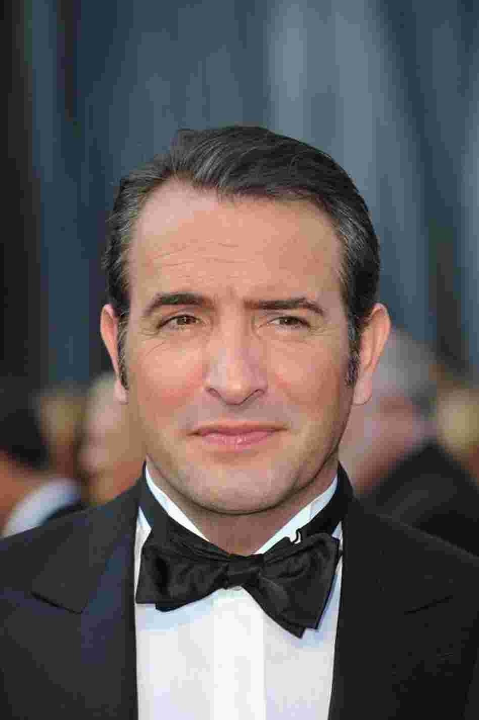 French actor Jean Dujardin was nominated for Best Actor for The Artist — the night's favorite to take home the Best Picture statue.