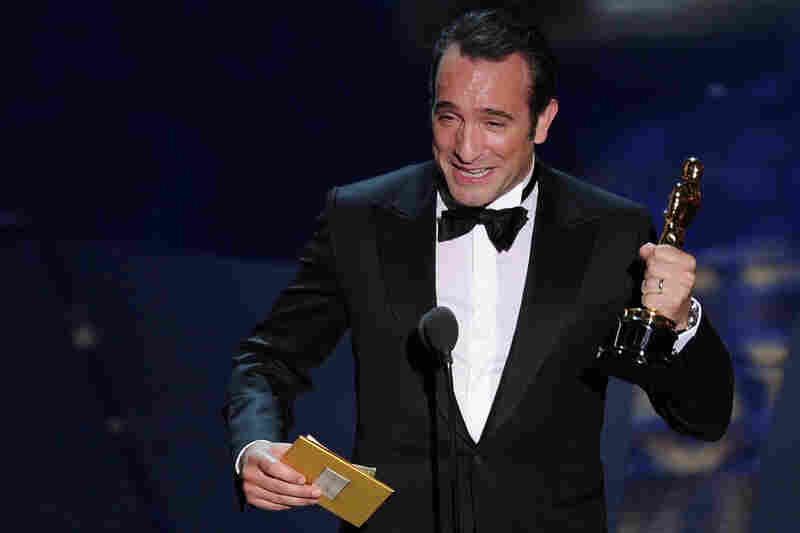 "Jean Dujardin's Oscar for Best Actor was one of five for ""The Artist."" It also won Best Picture, Best Director, Best Original Score and Best Costume Design."