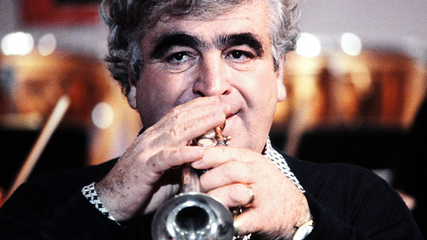 Trumpeter Maurice André (photographed here in Paris in 1980) was acclaimed for his sparkling high notes on the piccolo trumpet.  (AFP/Getty Images)