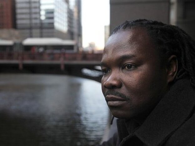 Charles Wiwa fled Nigeria in 1996 following a crackdown on protests against Shell's oil operations in the Niger Delta. Now a resident of Chicago, Wiwa and other natives of the oil-rich Ogoni region are suing Shell for human rights violations.