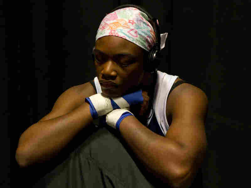 """""""Before boxing, I wanted to have 10 kids by the time I was 25. Now, my goal is to get this gold medal, go pro and be a world champion,"""" says aspiring Olympic boxer Claressa Shields, 16."""
