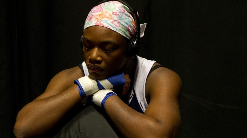 """Before boxing, I wanted to have 10 kids by the time I was 25. Now, my goal is to get this gold medal, go pro and be a world champion,"" says aspiring Olympic boxer Claressa Shields, 16. (Sue Jaye Johnson)"