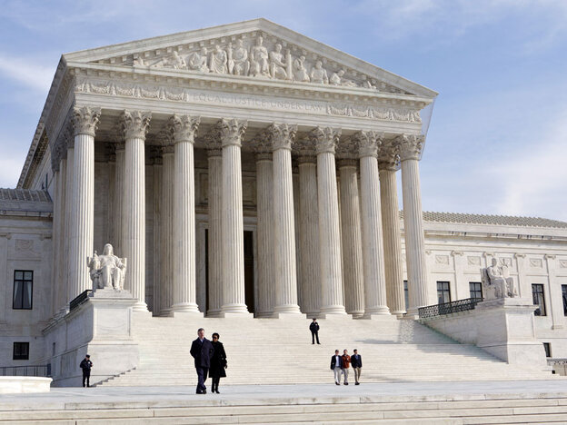 U.S. Supreme Court Building in Washington, D.C. On Feb. 21, 2012, the court agreed to consider new limits on the contentious issu