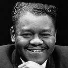 Legendary American jazz pianist and singer Fats Domino.