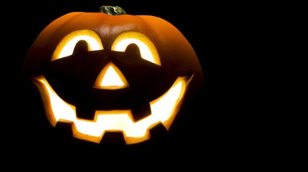 Halloween Jack-o-Lantern.