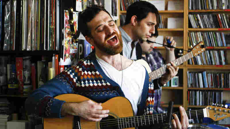 Milagres performs a Tiny Desk Concert on Jan. 19, 2012.