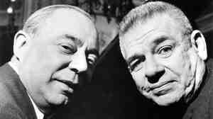 Richard Rodgers and Oscar Hammerstein in 1960.