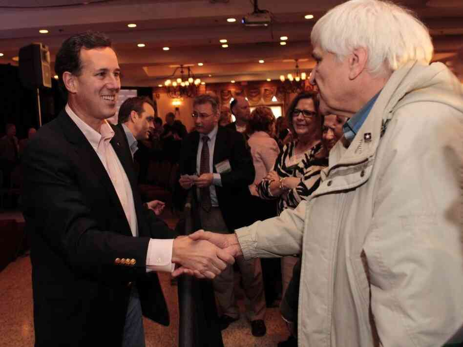 On the campaign trail, Rick Santorum portrays himself as a Washington outsider. But the former senator has made money from inside-the-Beltway pursuits.