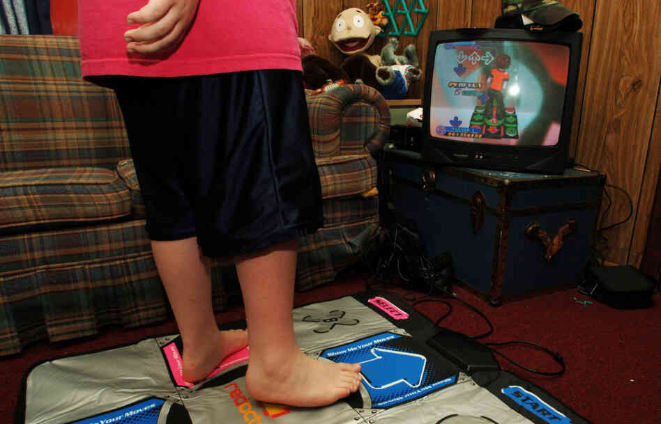 "Just because it's an ""active"" video game, doesn't mean the kid stays active."
