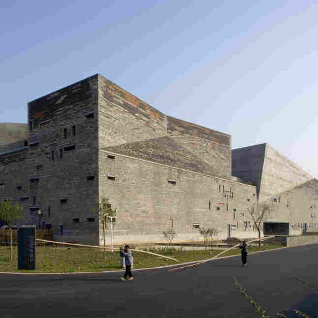 Wang Shu's design for the Ningbo History Museum came to him at 3 in the morning. He realized his job was to show people what their city used to look like, and the design recalls an ancient Chinese fortress.
