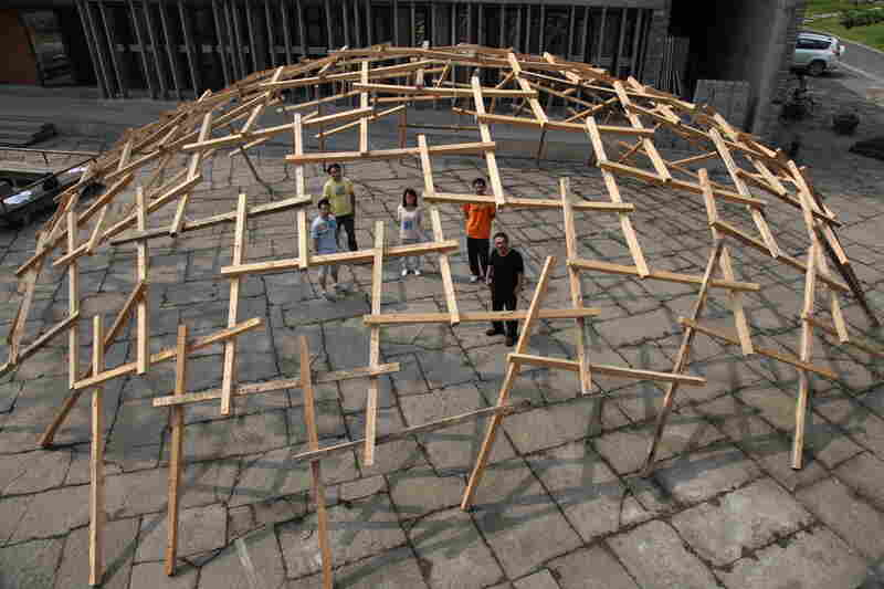 Decay of a Dome Exhibit (Installation), 2010, Venice, Italy.