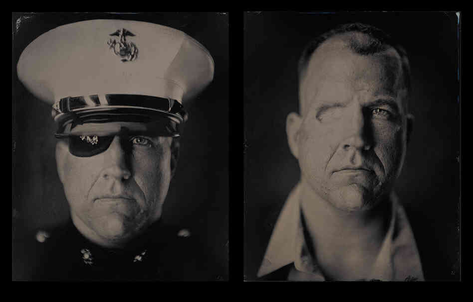 "Edward, gunnery sergeant, U.S. Marine Corps (dates of service: 1996-2011): ""I wanted to be a Marine forever, but after losing my eye and parts of my skull, I wasn't able to anymore. I refused to accept this as a negative thing and instead I made a conscious effort to find a new path that I was even more excited about."""