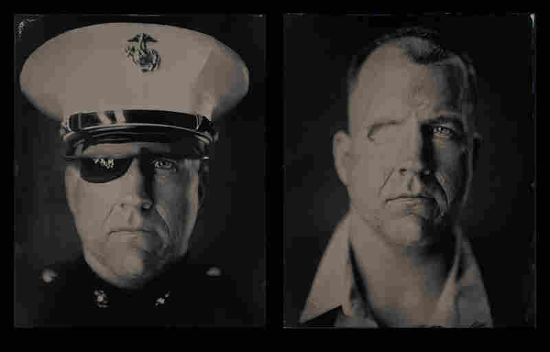 """Edward, gunnery sergeant, U.S. Marine Corps (dates of service: 1996-2011): """"I wanted to be a Marine forever, but after losing my eye and parts of my skull, I wasn't able to anymore. I refused to accept this as a negative thing and instead I made a conscious effort to find a new path that I was even more excited about."""""""