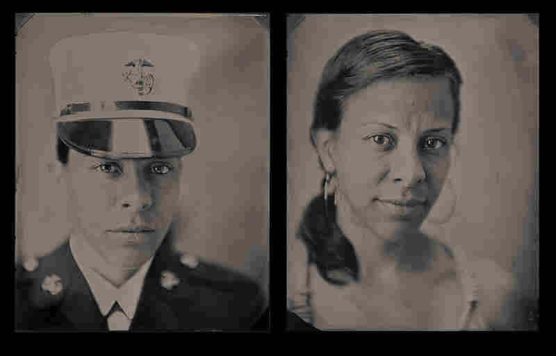 """Estee, staff sergeant, U.S. Marine Corps (2002-present): """"The experience that has most affected me while I have been in the military was the death of my best friend, Cpl. Ramona M. Valdez."""""""