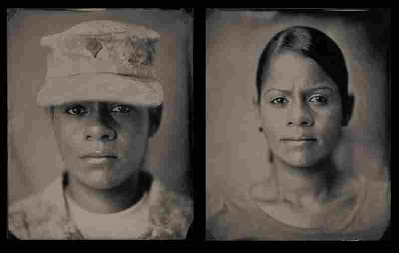 """Yamili, specialist, U.S. Army (2007-present): """"The death of my husband while serving in the Army ... made me really sad, but at the same time it made me be grateful to be alive and have such a wonderful daughter."""""""