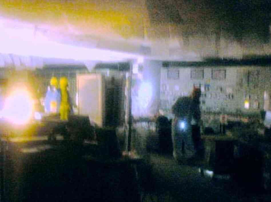 After the earthquake, workers were sent inside Reactor 1 at the Fukushima plant to release some of the pressure building up inside the reactors.