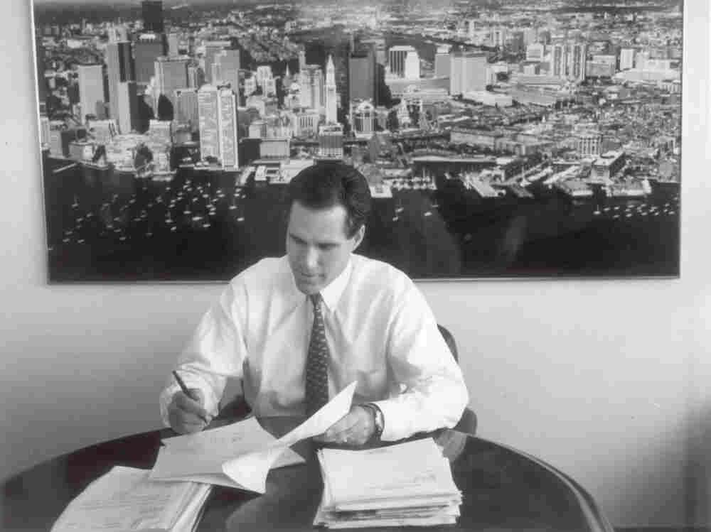 Mitt Romney, back in his Bain Capital days.