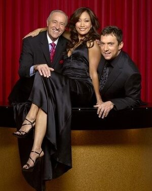 Judges Len Goodman, Bruno Tonioli, and Carrie Ann Inaba will hold up the scoring paddles again this season on Dancing With The Stars.