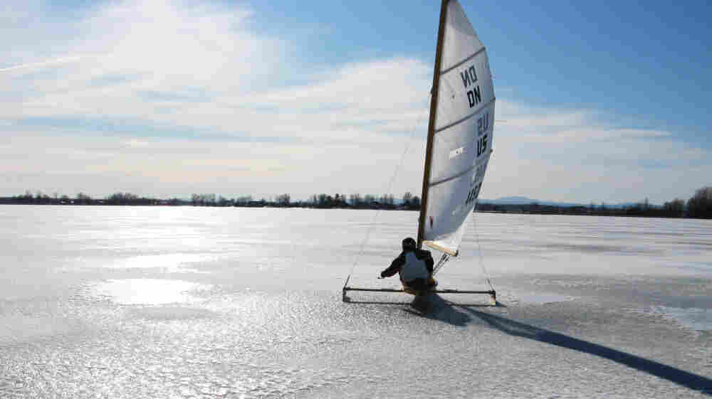 Come Sail Away: Retired high school science teacher — and adrenaline junkie — Andy Sajor rides his ice boat on a frozen Lake Champlain in New York. Perfect ice sailing conditions call for cold temperatures, a strong breeze and a thick sheet of ice — but not too much snow.