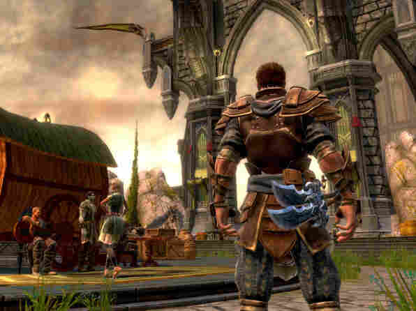 A screenshot from 'Kingdoms Of Amalur: Reckoning.'