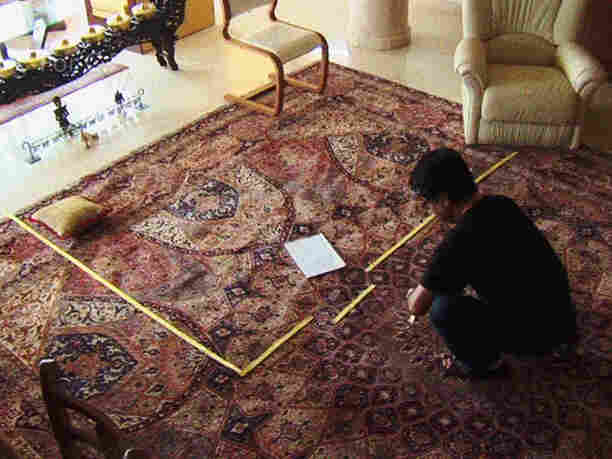 Panahi uses the space available to him in his home to map out scenes from the film he would make, were he allowed.
