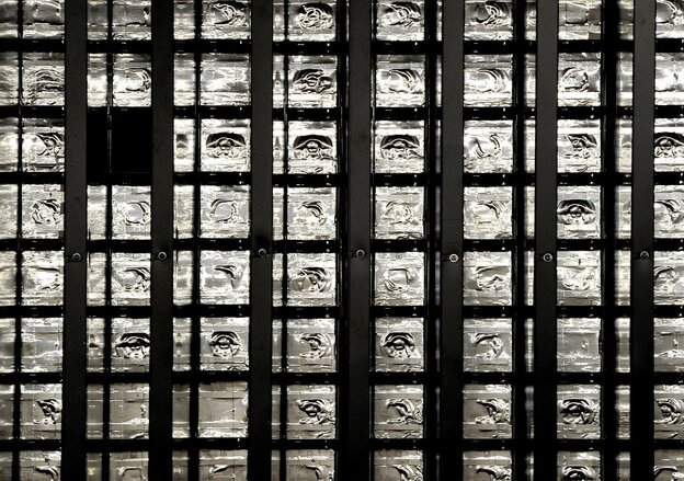 A view of bricks used by the Oscillation Project with Emulsion-Racking Apparatus (OPERA) at the Gran Sasso National Laboratory (LNGS) in Italy.