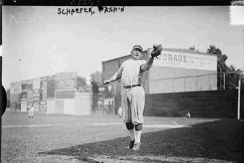 "Herman A. ""Germany"" Schaefer, major league baseball player, 1913"