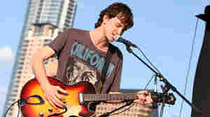 The Felice Brothers performed at Auditorium Shores.