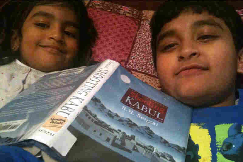 Arghya Roy, 8, Tarrytown, N.Y.: Here is a pic of me and my sister, Yagyesha, 5 years old, reading in my favorite spot in the world — our parents' bed. It is my favorite because it is so comfy!!!!