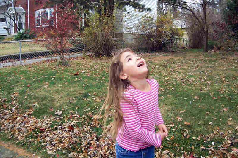 Daisy Williams, 6: This is my 7-year-old sister, Lily. We love walking in our neighborhood.
