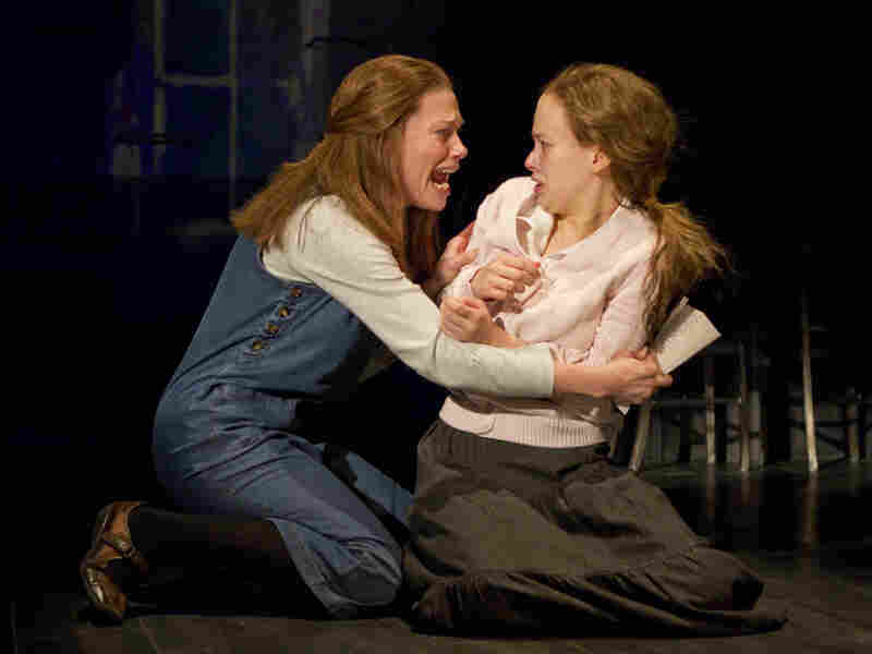 Marin Mazzie plays Carrie's deeply religious mother, Margaret, who fears for her daughter's soul as Carrie encounters boys in school and further develops her telekinetic powers.