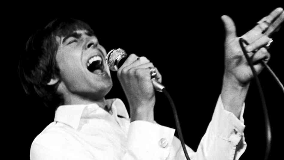Davy Jones onstage with The Monkees in London, July 1967.