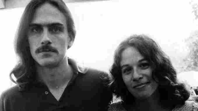 James Taylor and Carole King, who played piano on 'Fire And Rain'.