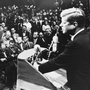 Scholars say John F. Kennedy's 1960 speech has to be taken in context of the times.