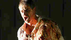 Baritone William Shimell sings the title role in Handel's opera  Hercules in Aix-en-Provence in 2004.