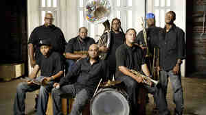The Soul Rebels infuse elements of brass band sound, marching band dynamics, jazz and soul into their music.