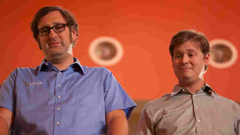 Eric Wareheim (left) and Tim Heidecker apply their boundary-pushing style of sketch comedy to the long-
