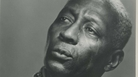 The blues musician Huddie Ledbetter, also known as Leadbelly.
